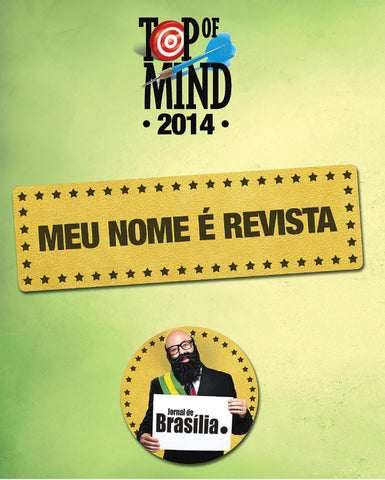 Top Of Mind - 2014 by topofmindbrasilia - issuu 9402c12c272