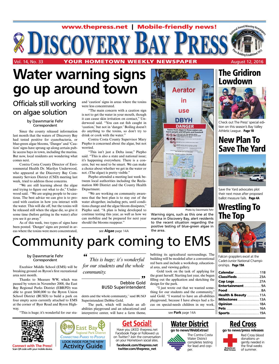 0c2c6bff0f5a Discovery Bay Press 8.12.16 by Brentwood Press   Publishing - issuu