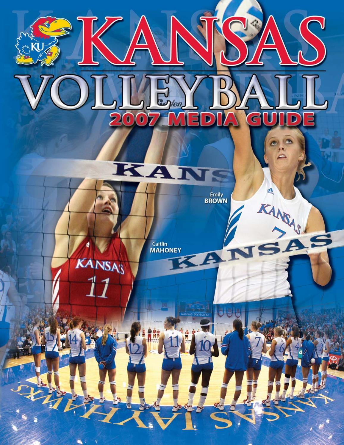2007 Kansas Volleyball Media Guide By Kansas Athletics Issuu