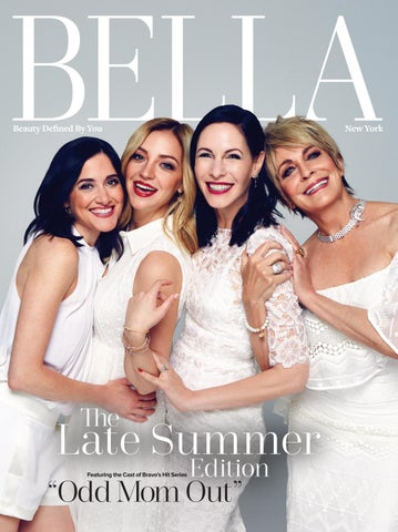 ebd8cc29 BELLA New York: July/August 2016 featuring the Cast of Odd Mom Out ...