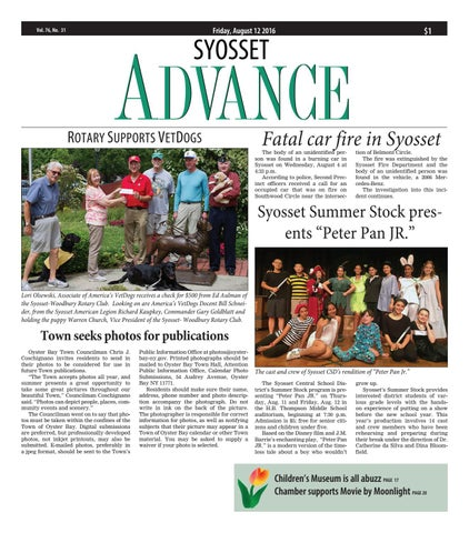 syosset advance 08122016 by litmor publishing issuu