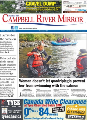 Campbell River Mirror, August 12, 2016 by Black Press - issuu e96fb510f8