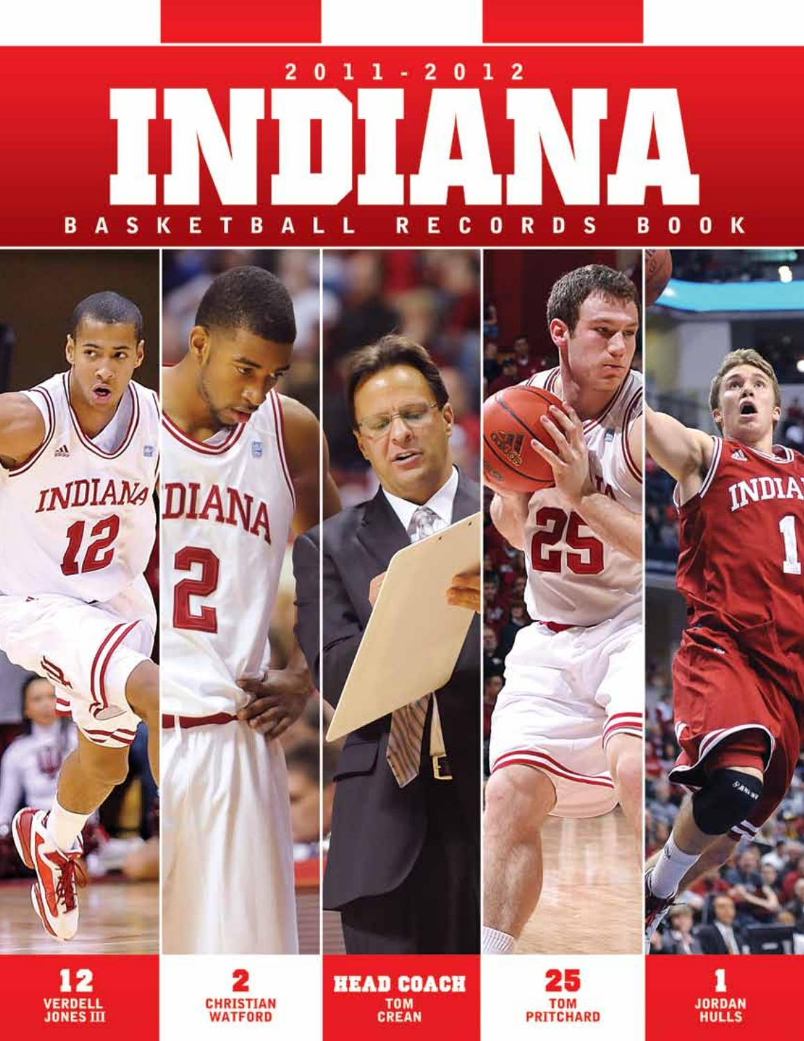 2011 12 Indiana Menu0027s Basketball Media Guide by