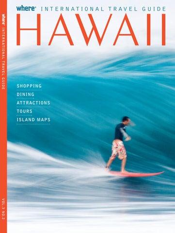 Hawaiian International (English) Travel Guide August 2016 by