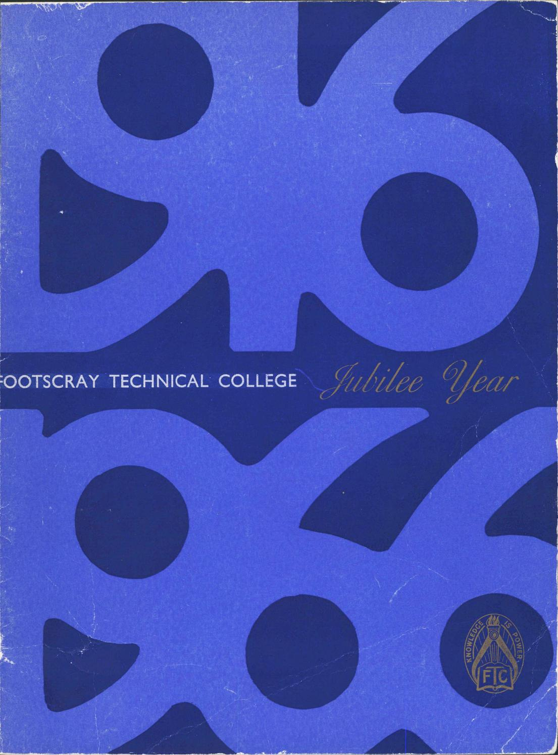 Footscray Technical College Blue And Gold 1965 Vol 6 No 4 By 0654277 Carling 50 Amp Red Black Boat On Off Rocker Circuit Breaker Victoria University Issuu