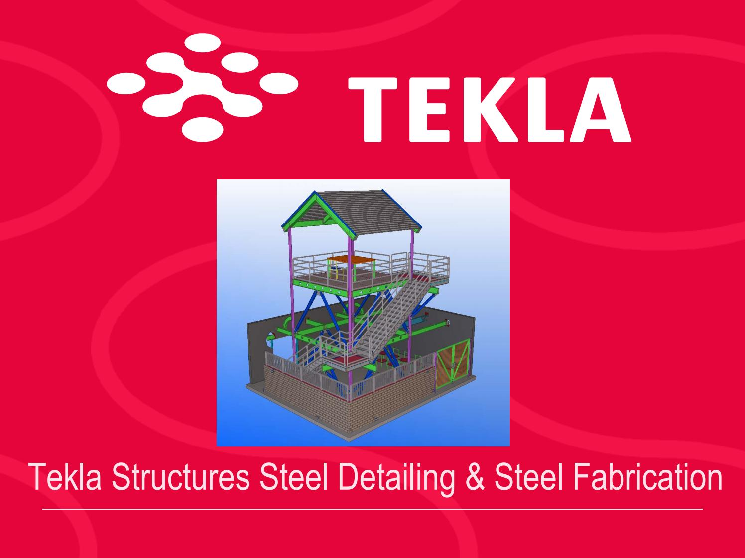 Taller TEKLA STRUCTURES by IMCA - issuu