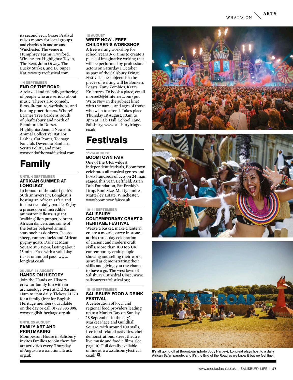 Salisbury Life – issue 223 by MediaClash - issuu