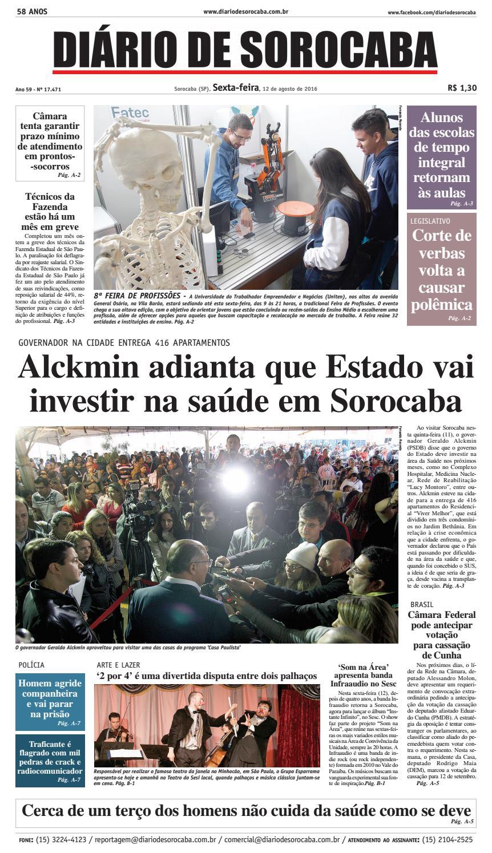 Edição de 11 de agosto de 2016 by DIÁRIO DE SOROCABA - issuu b5d4198b49ec8