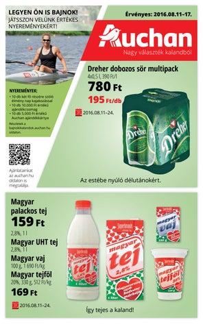 Auchan akcios katalogus 2016 08 11 17 by myhungary.net - issuu 795d9223da