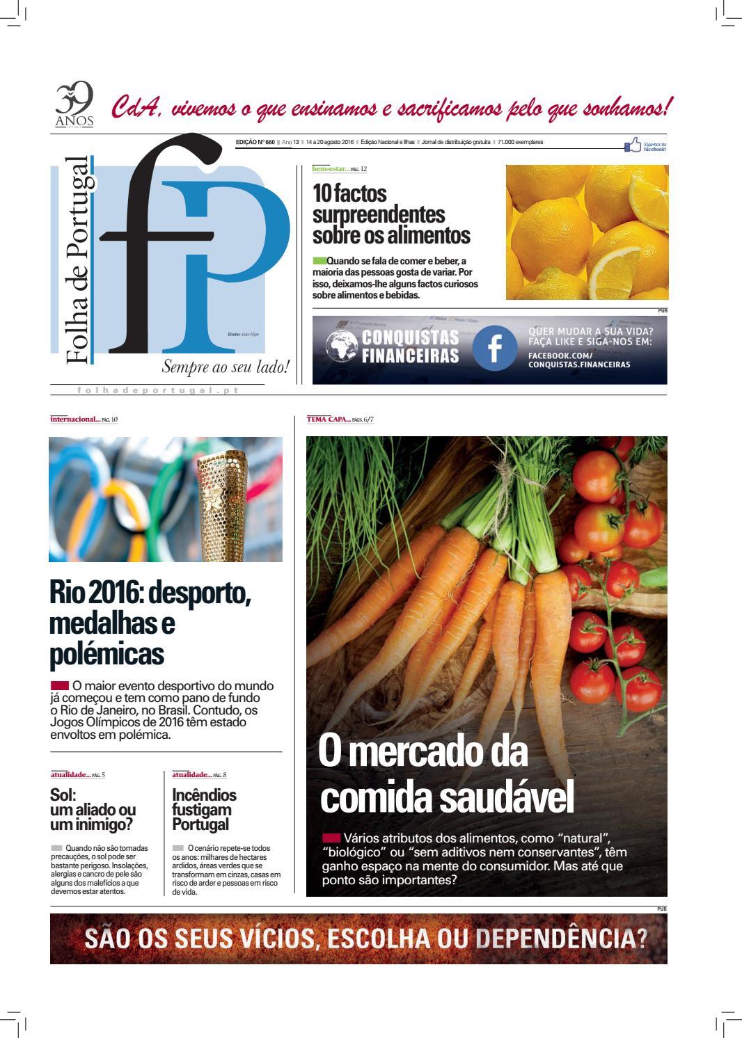 42dfd5a5368cc Folha de Portugal - Edição 660 by Igreja Universal - issuu