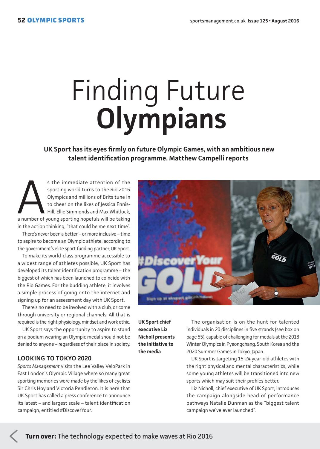Sports Management August 2016 issue 125