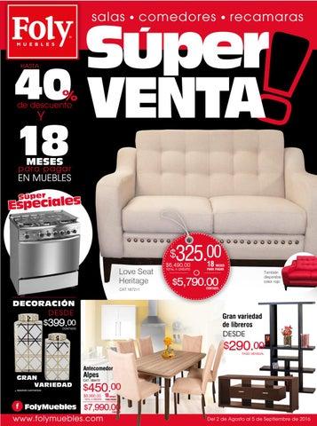 Folleto súper venta by Foly Muebles Oficial - issuu