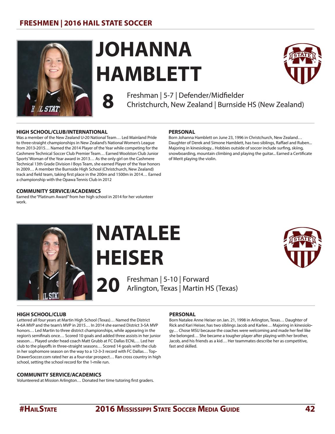 2016 mississippi state soccer media guide by mississippi state 2016 mississippi state soccer media guide by mississippi state university athletics issuu aiddatafo Choice Image
