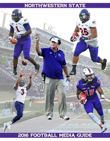2016 Northwestern State Football Media Guide by Northwestern State ... 4bd2d83ba