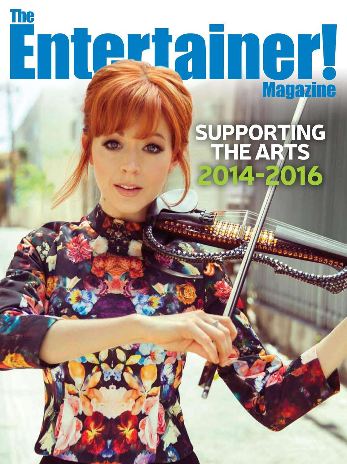 f9956016ec The Entertainer! Magazine Supporting The Arts 2014-2016 by Times Media  Group - issuu