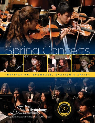 Spring concert program 2016 final by San Diego Youth Symphony and ...