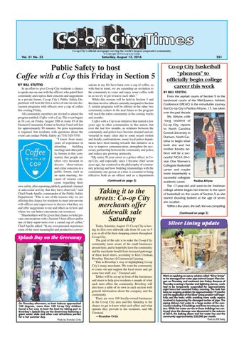 Co op City Times 08 13 16 by Co op City Times issuu