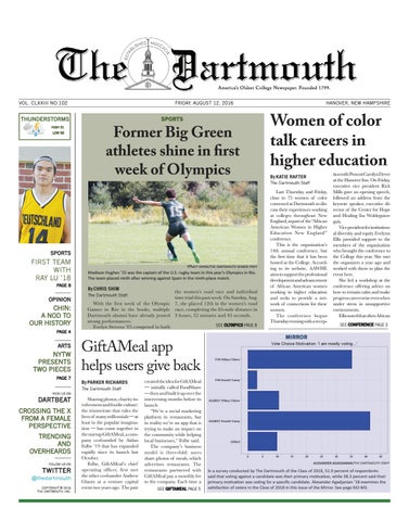 The Dartmouth Freshman Issue 2016 by The Dartmouth Newspaper - issuu 9f77caa0f0573