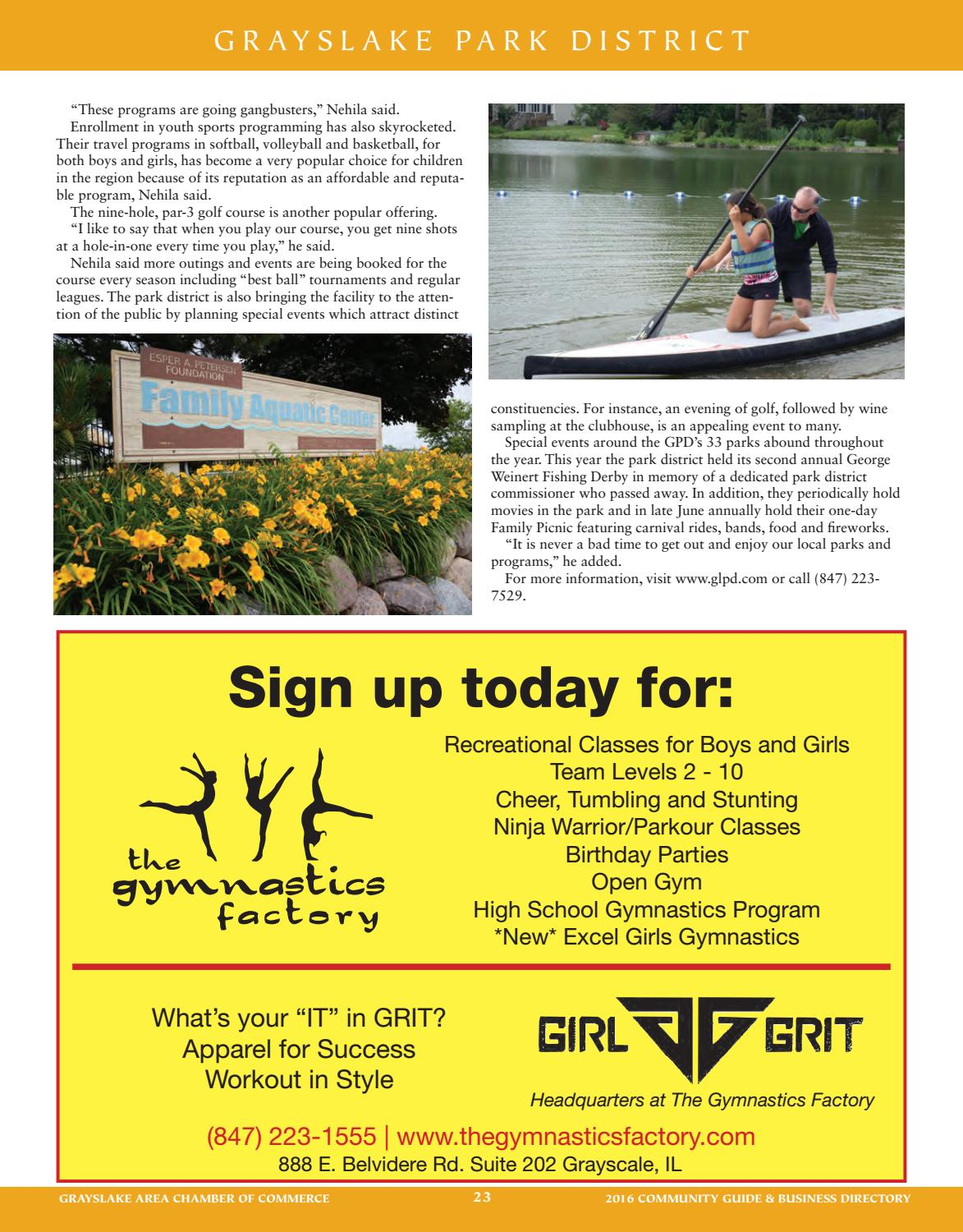 Grayslake IL Community Profile by Town Square Publications