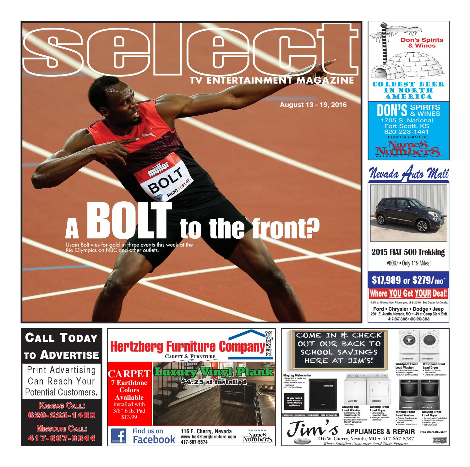 02194c186 Tv guide 8 13 16 by Nevada News Nevada Daily Mail - issuu