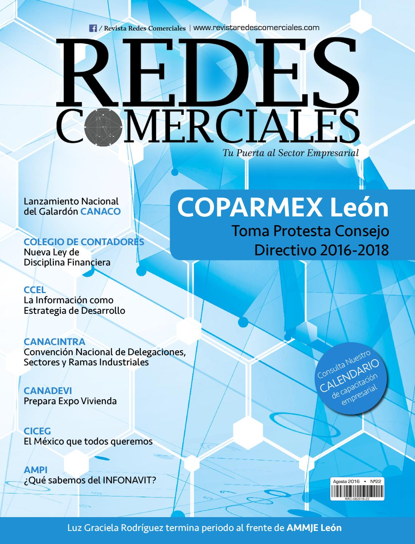 Revista Redes Comerciales agosto 2016 by Revista Redes Comerciales ...