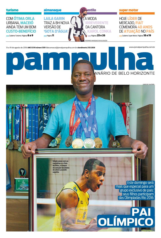 Pampulha - Sábado, 13.8.2016 by Tecnologia Sempre Editora - issuu 648c6f2ef0