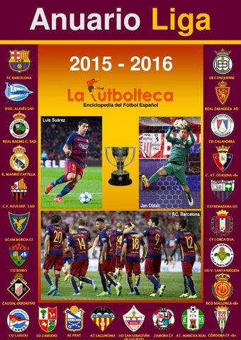 Anuario Liga 2015-2016 LaFutbolteca by LaFutbolteca - issuu bfebe7563f4