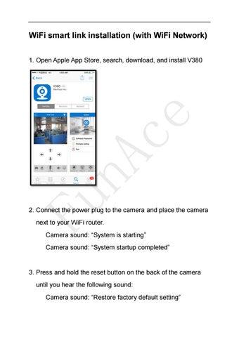 Wifi camera ios installation by FunAce - issuu