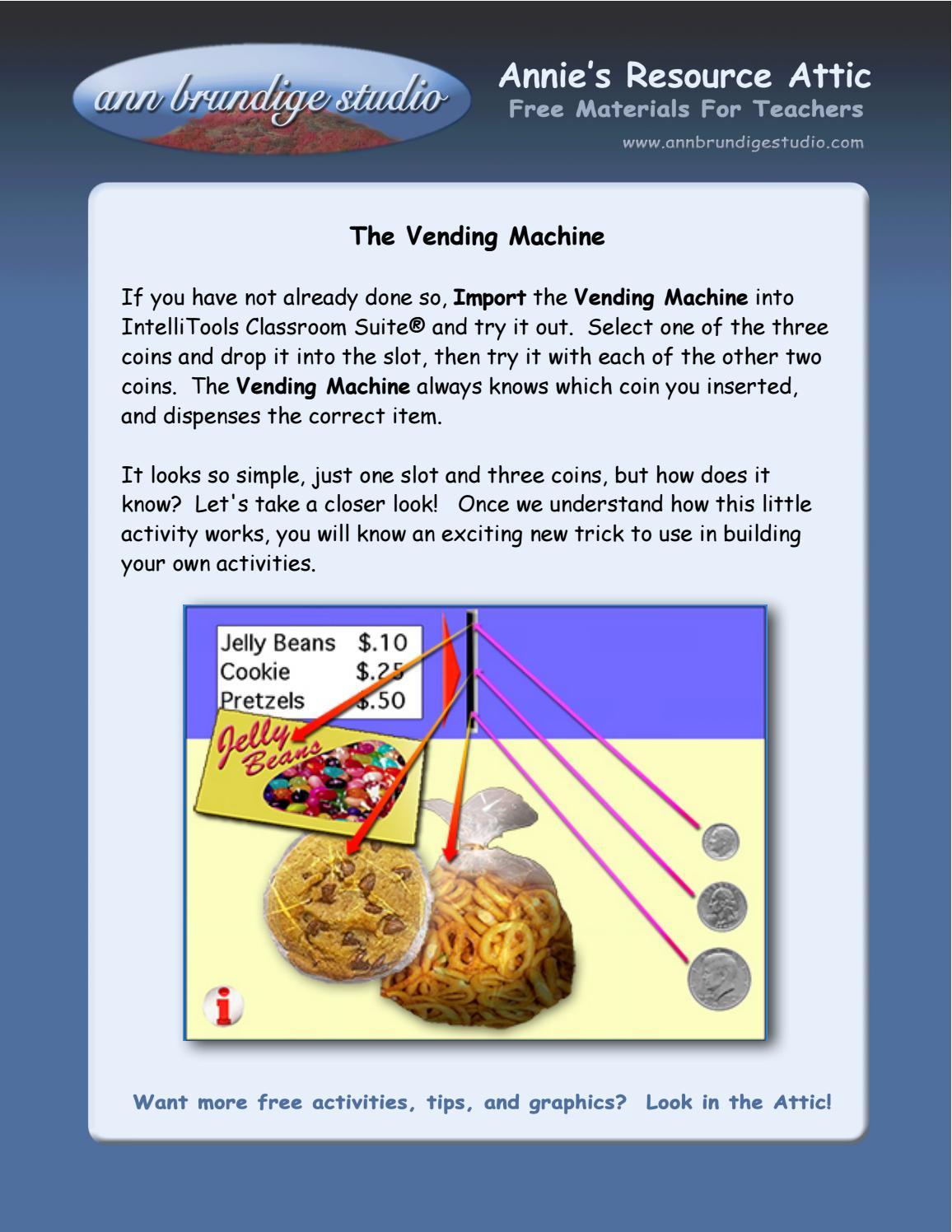 Vending Machine: Stacked Regions by Annie's Tutorials Online
