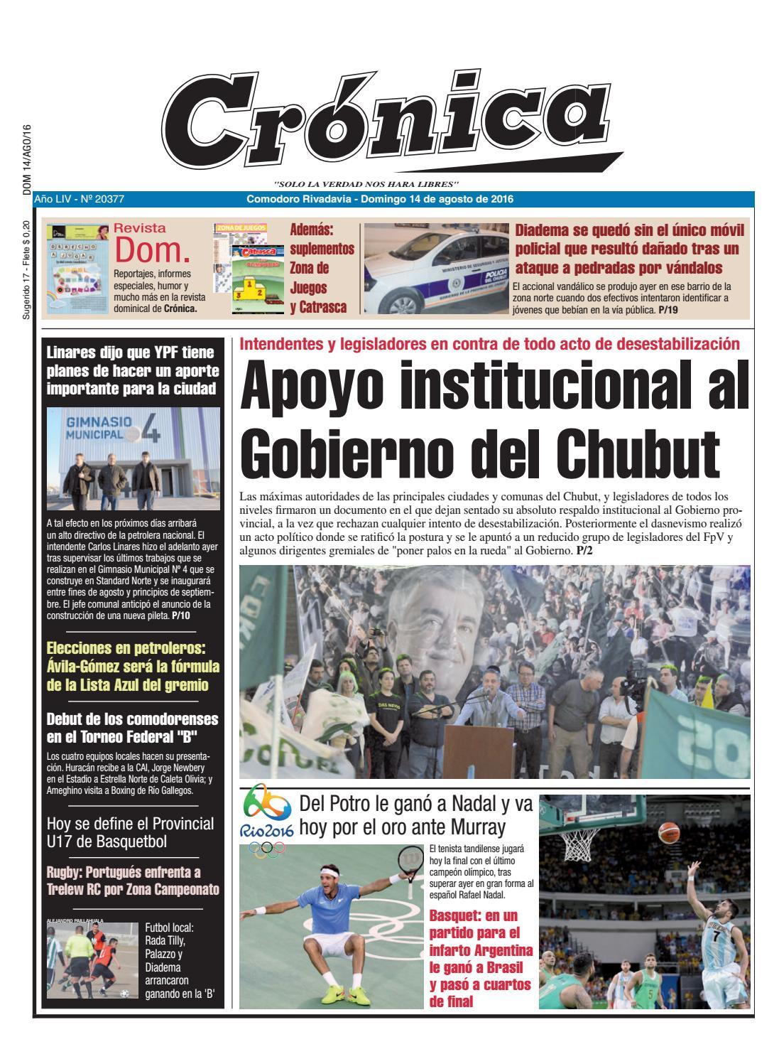 fcc828e79 1e5cb237a8b0a82ae6178221373ac5ed by Diario Crónica - issuu