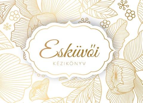 """Cover of """"Esküvői Kézikönyv Miskolc"""""""