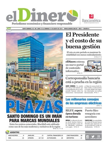 Periódico elDinero (81) 15/08/2016 by Periódico elDinero - issuu