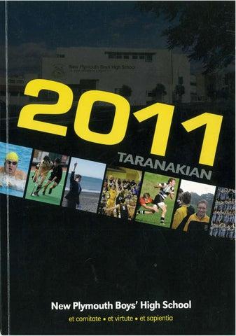 2011 Taranakian by New Plymouth Boys  High School - issuu fb0a14b889767