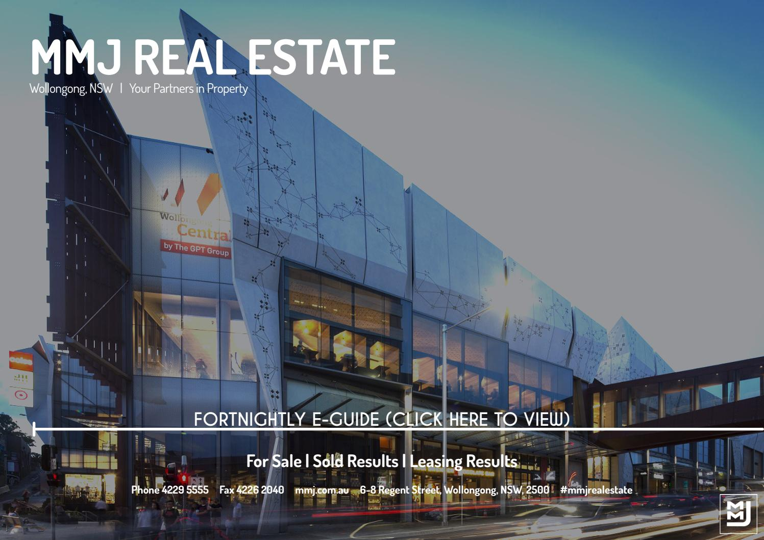 Mmj Fortnightly E Guide 11 08 2017 By Real Estate Wollongong Issuu