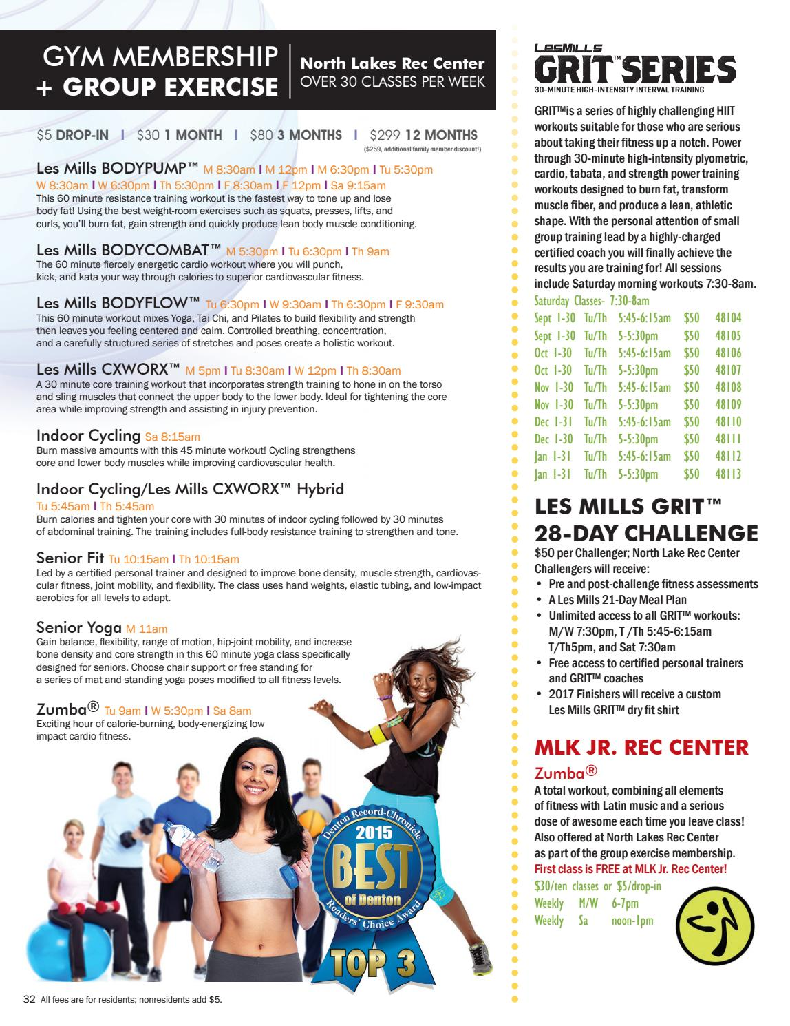 2016-17 Fall and Winter PLAY Guide by Denton Parks and Recreation