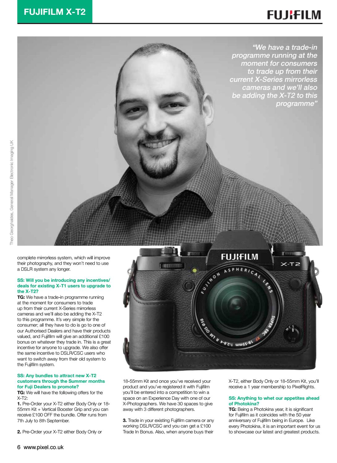 Pixel Magazine Fujifilm Take Over Edition By Life Media Group Issuu Xt2 Body Only