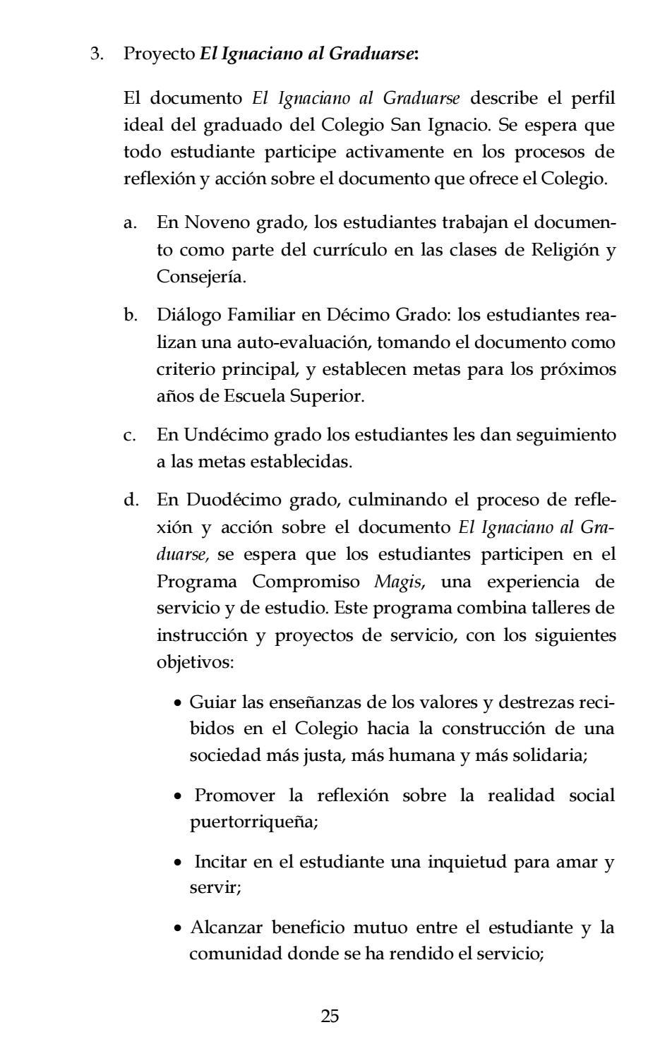 Colegio San Ignacio de Loyola | Manual del Estudiante 2016-2017 by ...