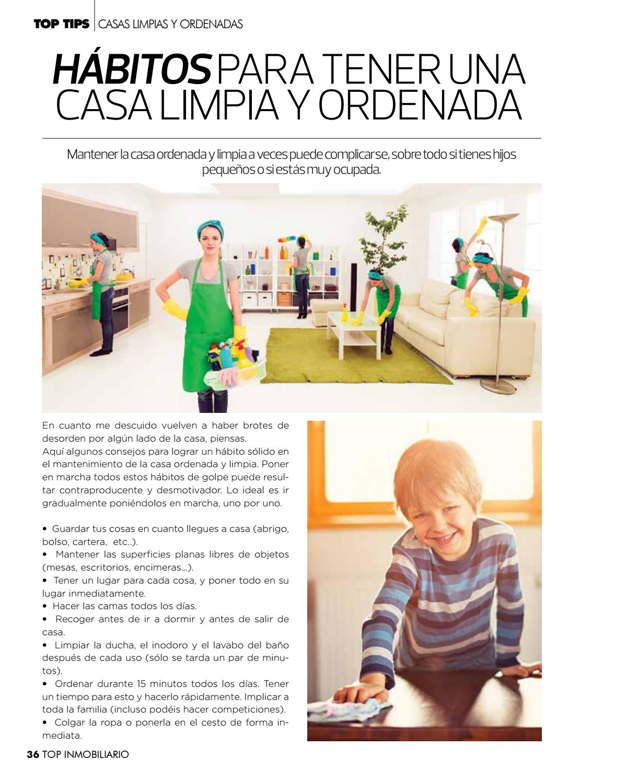 Como mantener la casa limpia y ordenada top with como - Casa limpia y ordenada ...