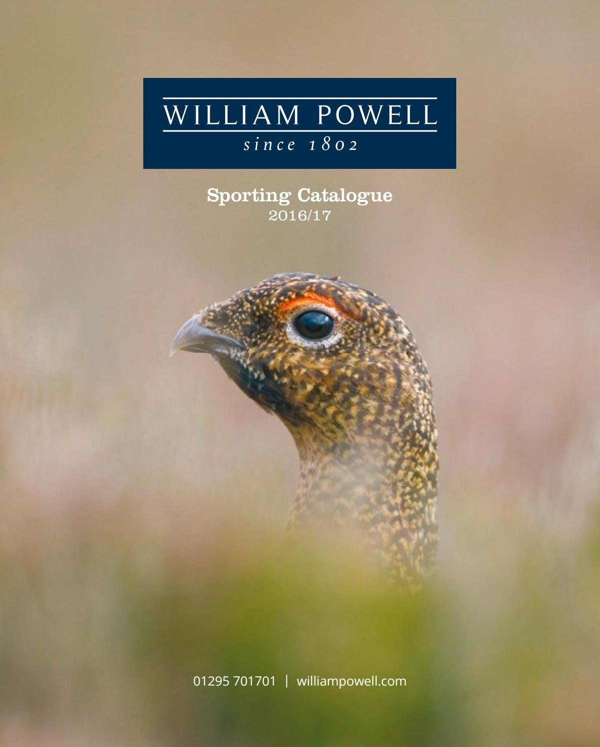 df42c0171ea William Powell Sporting Catalogue - 2016 17 by William Powell - issuu