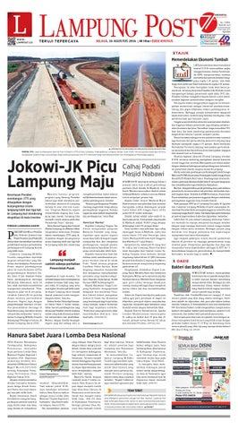 Lampung Post Selasa 16 Agustus 2016 By Lampung Post Issuu