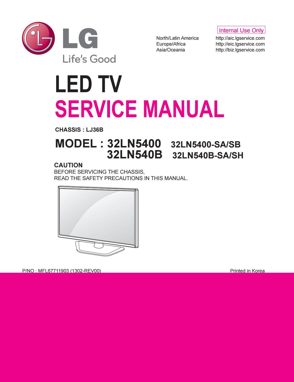 Manual De Servio Tv Lg Led 32ln5400 Sa E Sb 32ln540b Sh To Magnify Schematic Circuit Diagram Chassis Lj36b By Portal Da Eletrnica Issuu