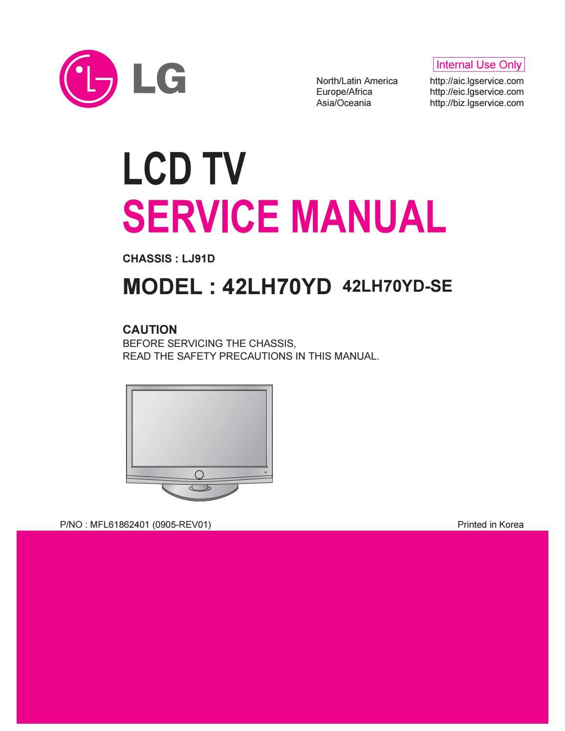 Lg 42 Lh 5000 Manual