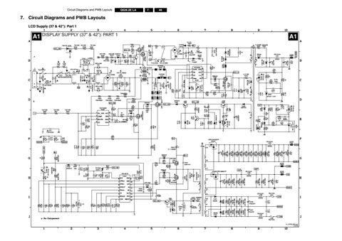 manual de serviço tv philips 42pfl7603d 12 chassis q528 2e by portalPhilips Fl1 Chassis Circuit Diagram 2 Page Preview #20