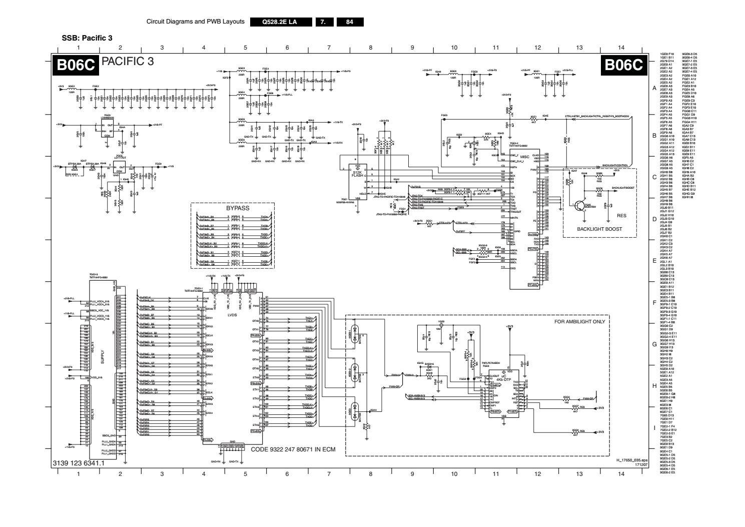 manual de servi u00e7o tv philips 42pfl7603d 12 chassis q528 2e by portal da eletr u00f4nica