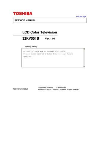 Инструкция На Toshiba 32 Zd 36 P