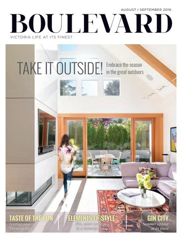 Boulevard Magazine August September 2016 Issue by Boulevard