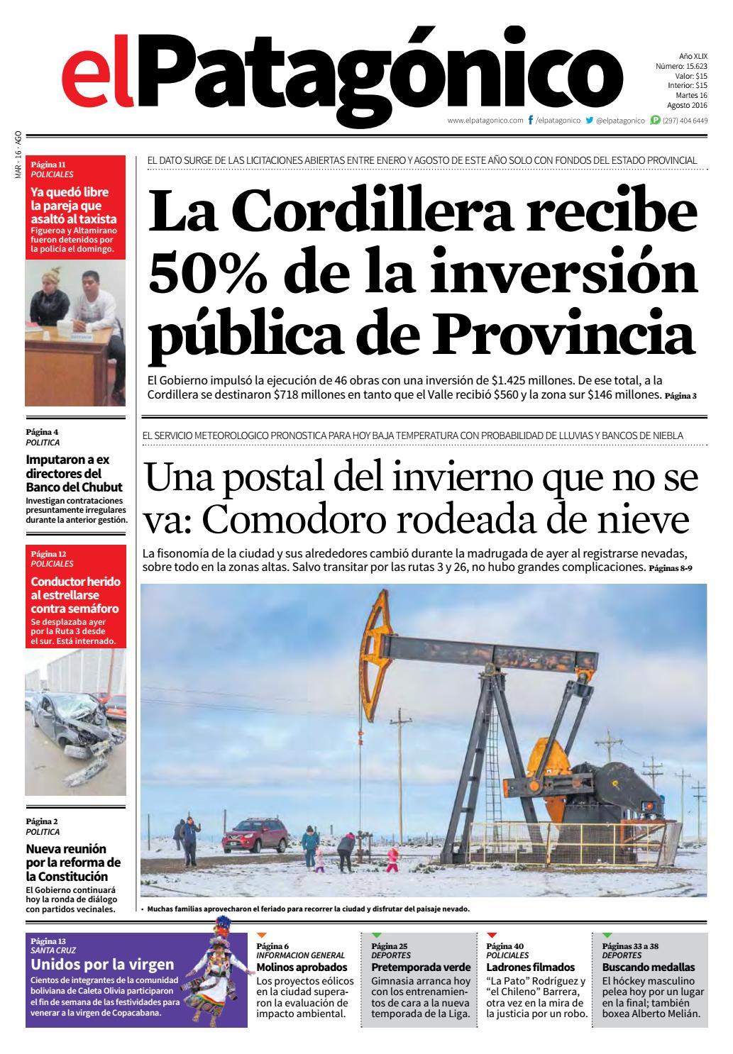 edicion225815082016.pdf by El Patagonico - issuu