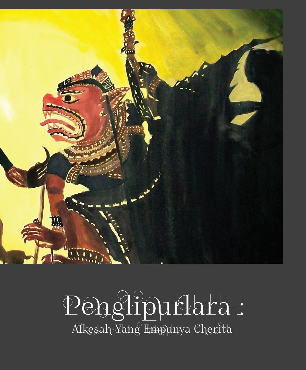 Penglipurlara Alkesah Yang Empunya Cherita By Pustaka Taman