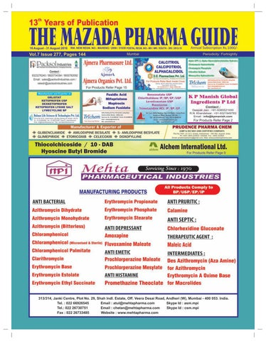 the mazada pharma guide 16th to 31st august 2016 by the mazada rh issuu com Welcome Banner Welcome Bulletin Board Guide