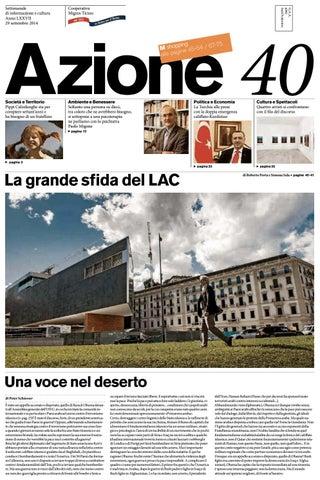 5728e1569d Azione 40 del 29 settembre 2014 by Azione, Settimanale di Migros ...